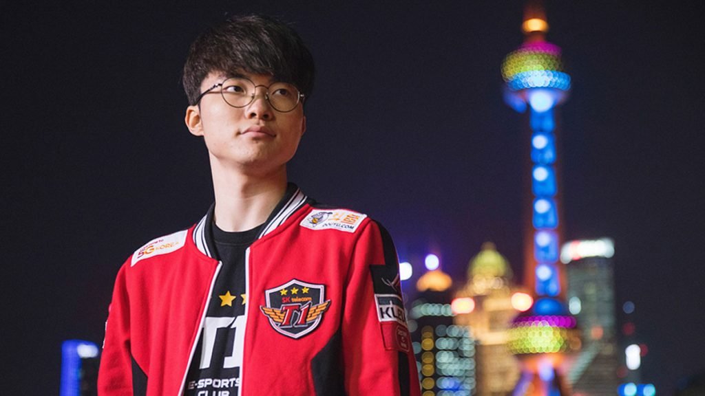 faker T1 esports player headshot