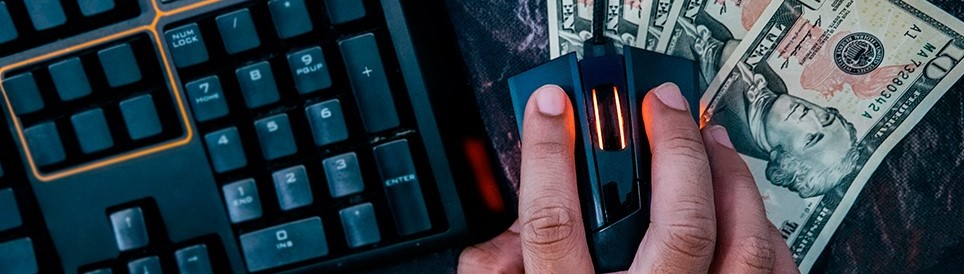 hand mouse and keyboard