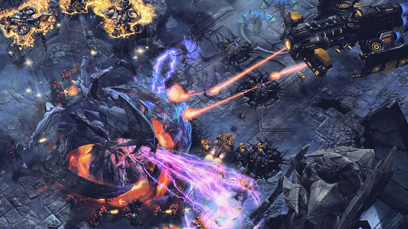 SC2 gameplay screenshot