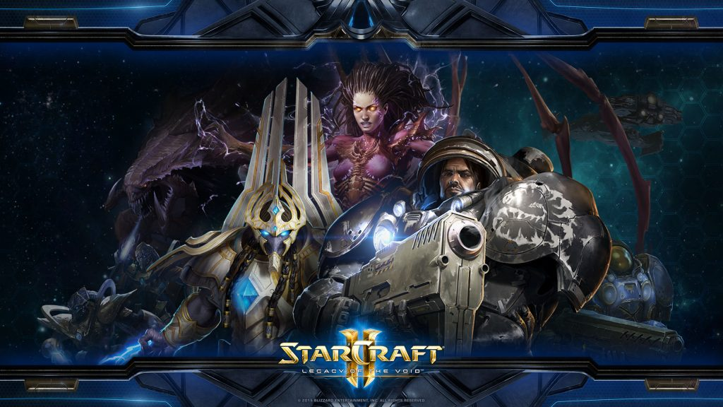 starcraft2 characters