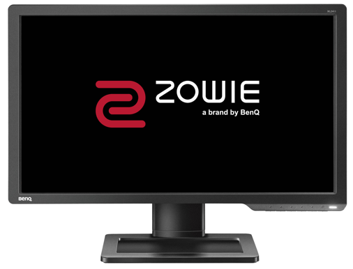 XL2411 monitor front view