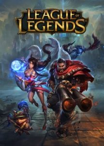 League of Legends game cover